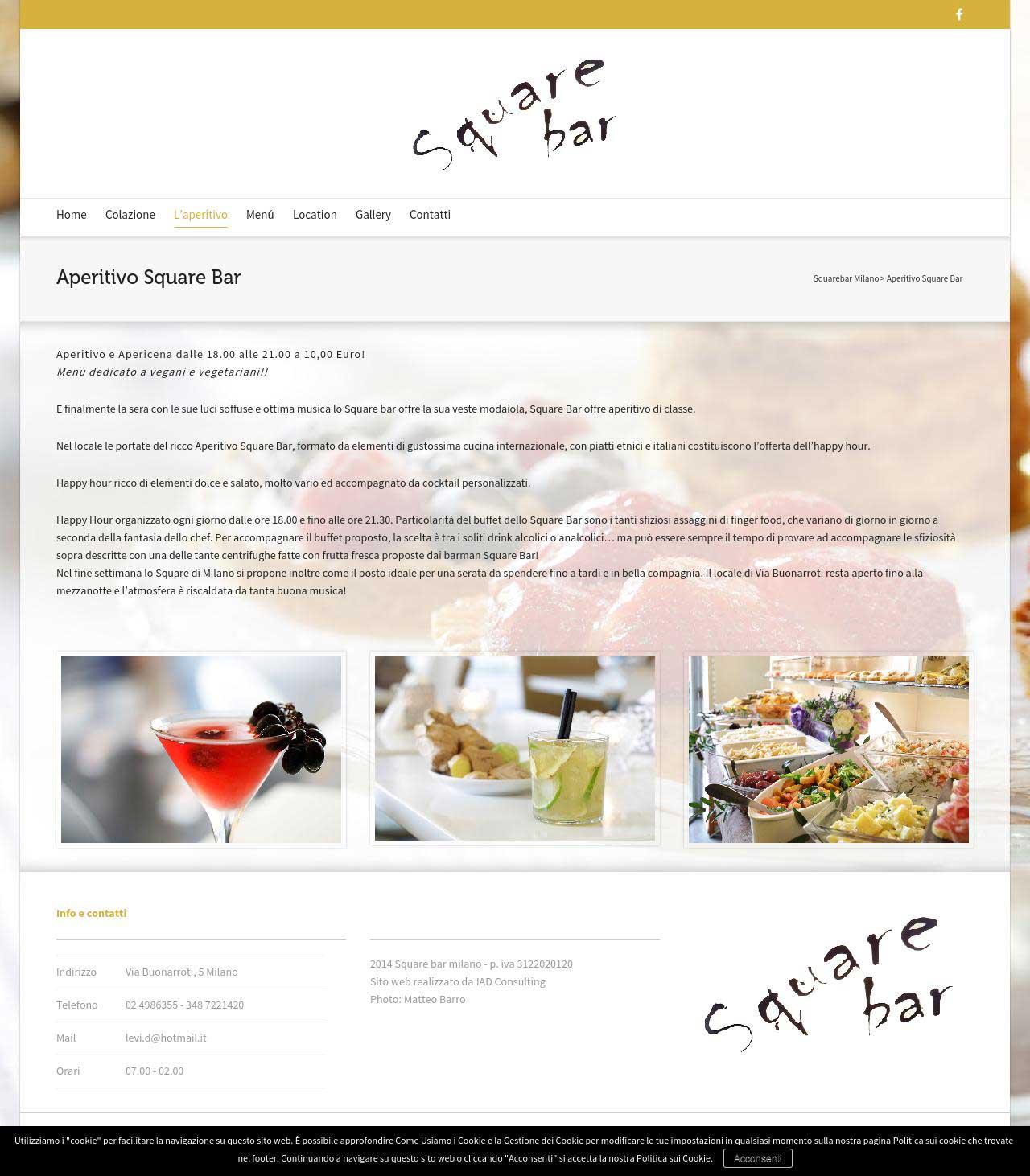 Squarebar-aperitivo